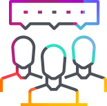 People Speaking Icon