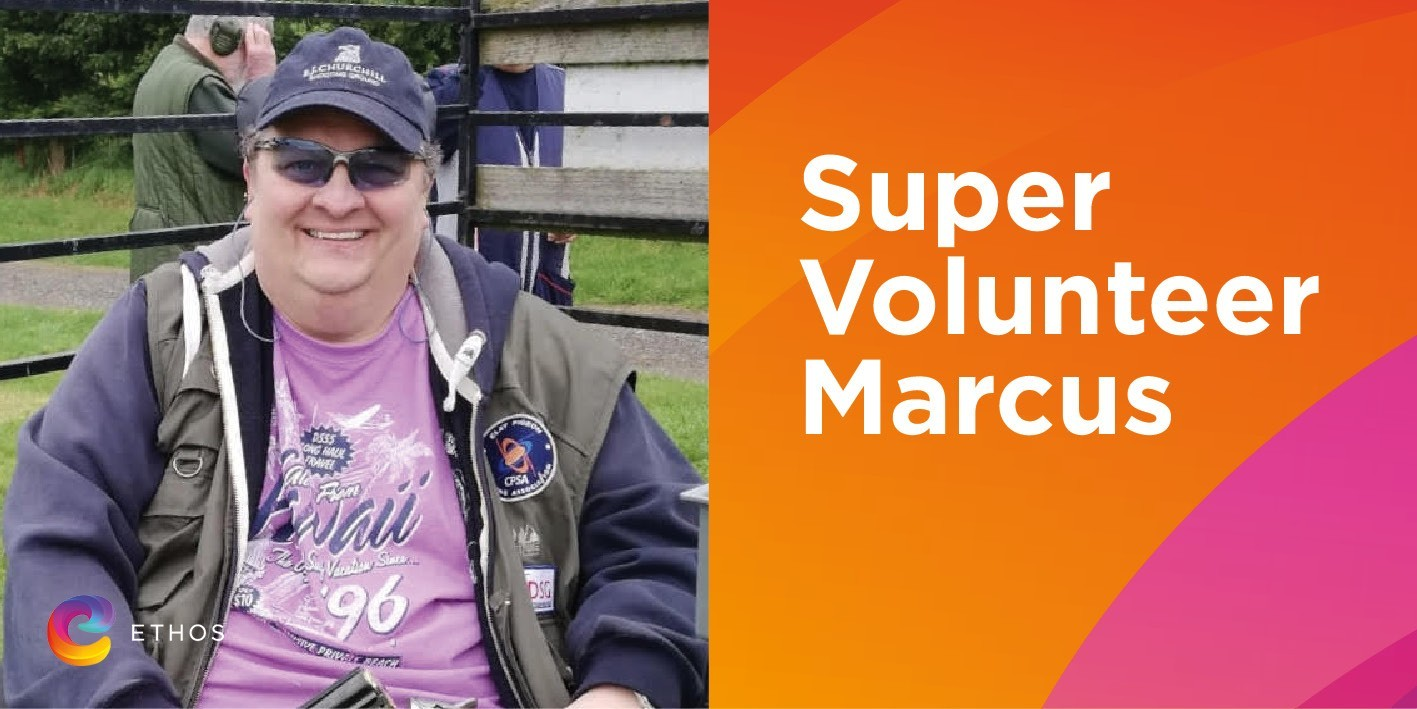 Super volunteer Marcus