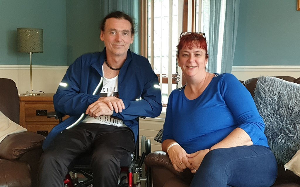 Peter's story - from the brink of death to a bright future
