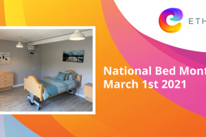 Help us celebrate National Bed Month March 1st 2021