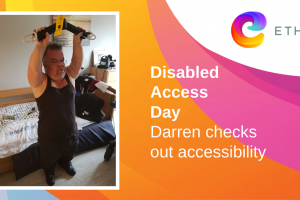 Darren checks out accessibility