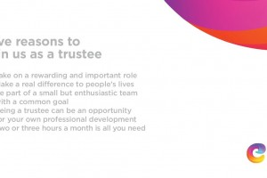 Five reasons to join us as a trustee