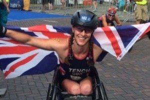 Lizzie's journey to para-triathlete